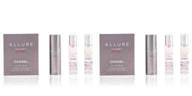 ALLURE HOMME SPORT eau extrême travel spray and two refills Chanel