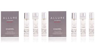 Chanel ALLURE HOMME SPORT eau extrême 3 recharges perfume