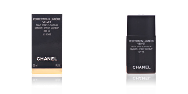 PERFECTION LUMIERE VELVET #20-beige Chanel