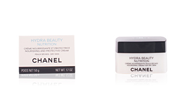 Face moisturizer HYDRA BEAUTY NUTRITION crème nourissante peaux sèches Chanel