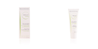 Acne Treatment Cream & blackhead removal SEBIUM HYDRA crème hydratante peaux grasses Bioderma