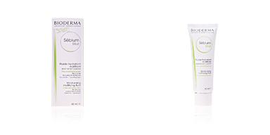 Traitement de l'acné, des pores et des points noirs SEBIUM MAT fluide hydratant matifiant Bioderma