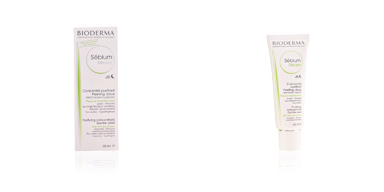 Acne Treatment Cream & blackhead removal SEBIUM sérum concentré purifiant peeling doux Bioderma