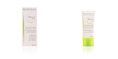 Acne Treatment Cream & blackhead removal SEBIUM AKN soin correcteur purifiant peaux acnéiques Bioderma