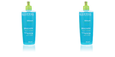 Facial cleanser SEBIUM gel moussant nettoyant purifiant Bioderma