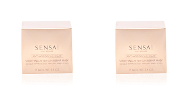 Facial SILKY BRONZE anti-ageing sun care after sun repair mask Kanebo