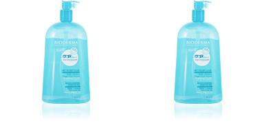 Gel de banho ABCDERM moussant gel nettoyant doux bébés, enfants Bioderma