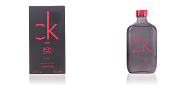 CK ONE RED EDITION FOR HIM eau de toilette vaporizador Calvin Klein