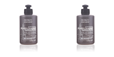 FOR MEN steel lock silver charge shampoo Redken