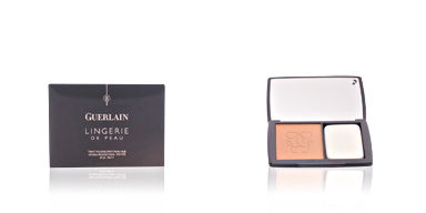 Foundation makeup LINGERIE DE PEAU nude powder foundation SPF20 Guerlain