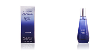COOL WATER NIGHT DIVE WOMEN eau de toilette spray 50 ml Davidoff