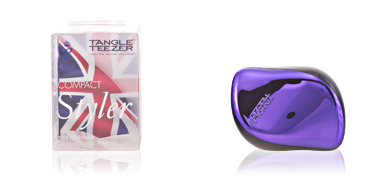 Brosse à cheveux COMPACT STYLER purple dazzle Tangle Teezer