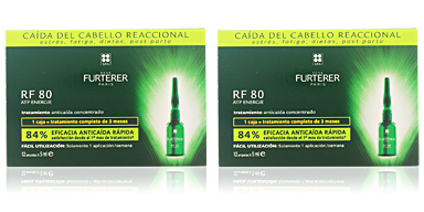 Tratamiento anticaída RF 80 concentrated hair loss treatment Rene Furterer