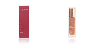 Foundation makeup TRUE RADIANCE correction du teint éclat Clarins