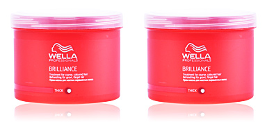 BRILLIANCE treatment for coarse colored hair Wella