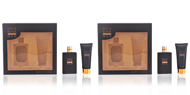 Concept V Design GOLD BLACK MEN COFFRET 2 pz