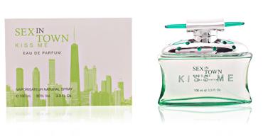 Concept V Design SEX IN TOWN KISS ME WOMAN eau de parfum vaporizzatore 100 ml