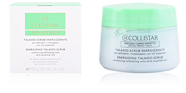 Body exfoliator PERFECT BODY energizing talasso scrub Collistar