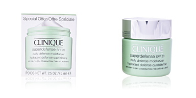 Clinique 	SUPERDEFENSE SPF20 daily defense moisturizer very dry to dry combination 75 ml