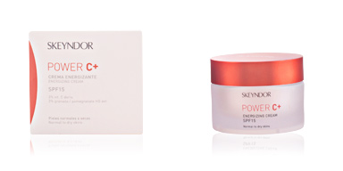 Skin lightening cream & brightener POWER C+ crema energizante SPF15 piel normal a seca Skeyndor