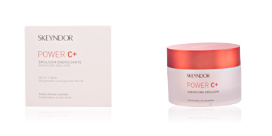 Anti aging cream & anti wrinkle treatment POWER C+ emulsión energizante piel mixta a grasa Skeyndor