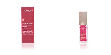 Clarins ECLAT MINUTE huile confort lèvres #02-raspberry 7 ml