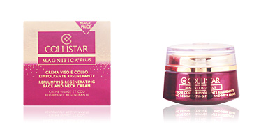Soin du visage hydratant MAGNIFICA PLUS replumping regenerating face cream Collistar