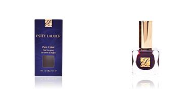 Estée Lauder PURE COLOR nail lacquer #black plum