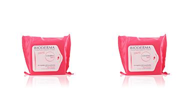 CREALINE H2O 25 lingettes démaquillantes peaux sensibles Bioderma