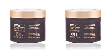 Après-shampooing réparateur BC OIL MIRACLE mist golden glow treatment Schwarzkopf