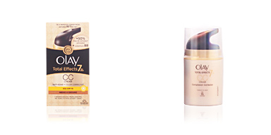Olay TOTAL EFFECTS CC anti-edad + color SPF15 #oscuro 50 ml