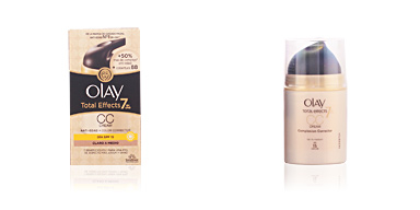 Olay TOTAL EFFECTS CC anti-edad + color SPF15 #medio 50 ml