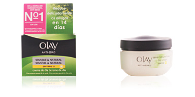 Anti aging cream & anti wrinkle treatment ANTI-EDAD crema día pieles secas SPF15 Olay