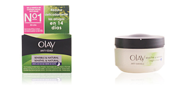 Cremas Antiarrugas y Antiedad ANTI-EDAD crema de noche pieles secas Olay