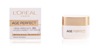 Skin tightening & firming cream  AGE PERFECT crema hidratante día L'Oréal París