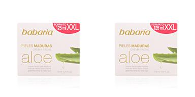 ALOE VERA crema facial nutritiva piel madura Babaria