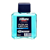 Aftershave AQUA VELVA loción after-shave Williams