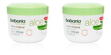ALOE VERA 20% crema corporal reparadora Babaria