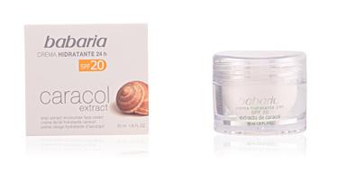 CARACOL crema extra hidratante SPF20 Babaria