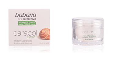 Face moisturizer CARACOL gel nutritivo Babaria