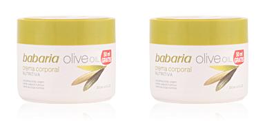 Hidratante corporal ACEITE DE OLIVA crema corporal nutritiva Babaria
