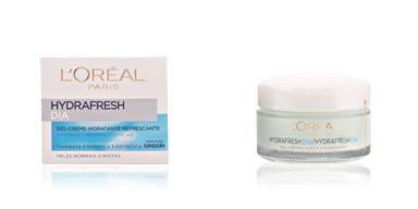 Soin du visage hydratant HYDRAFRESH día gel-crema hidratante refrescante L'Oréal París