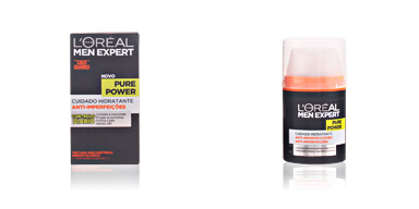 Face moisturizer MEN EXPERT pure power hidratante anti-imperfecciones L'Oréal París