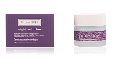 Anti aging cream & anti wrinkle treatment NIGHT SOLUTION bálsamo nutritivo reparador Bella Aurora
