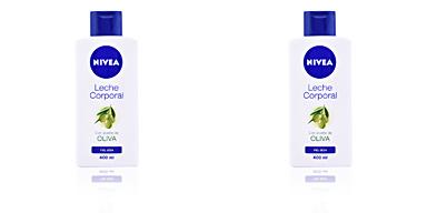 Hidratante corporal ACEITE DE OLIVA leche corporal piel seca Nivea