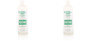 ROYAL CARE champú cosmético biotina & keratina 1000 ml Anian