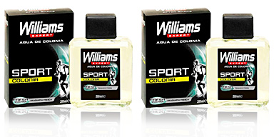 Williams WILLIAMS SPORT eau de cologne vaporizador 200 ml