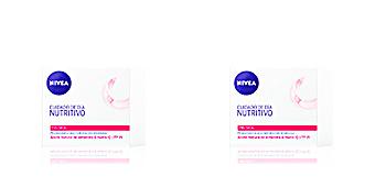 Face moisturizer AQUA EFFECT cuidado de día nutritivo SPF15 piel seca Nivea