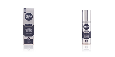 Anti aging cream & anti wrinkle treatment MEN ACTIVE AGE fluido hidratante anti-edad 6 efectos Nivea