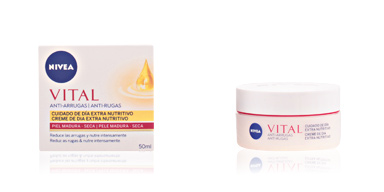 Anti aging cream & anti wrinkle treatment VITAL ARGAN crema anti-arrugas piel madura y seca Nivea